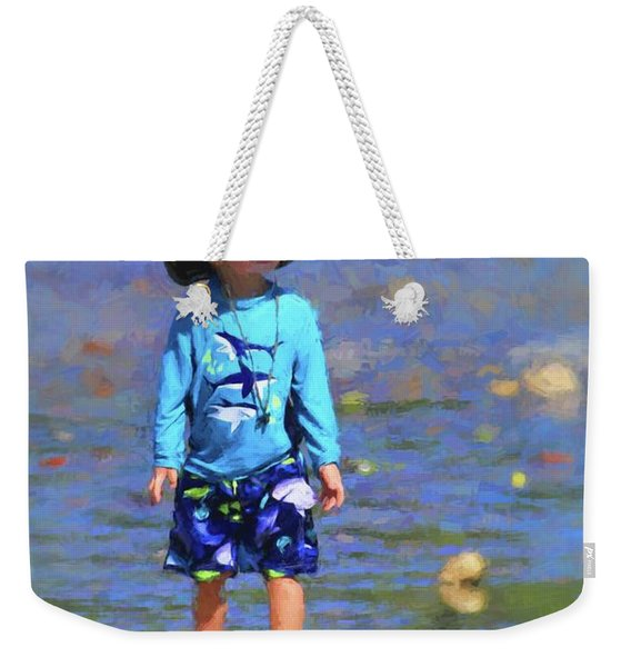 Beach Boy Weekender Tote Bag