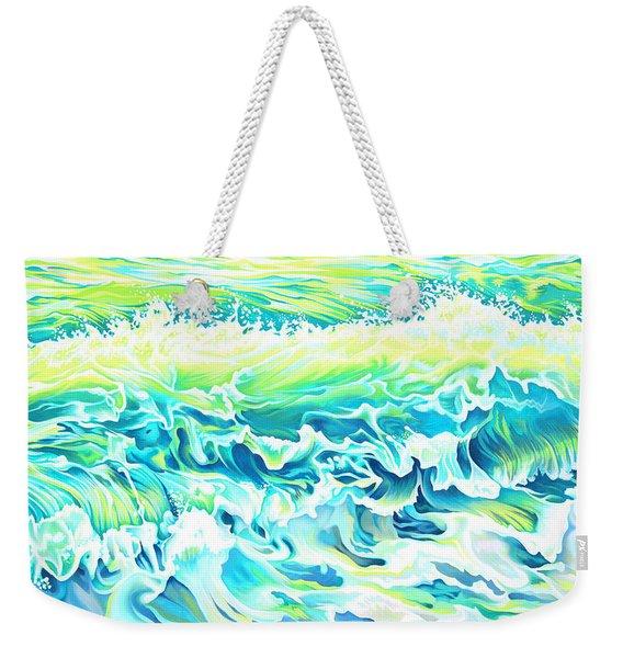 Beach Break Wave Weekender Tote Bag