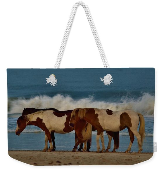 Beach Bum Ponies Weekender Tote Bag