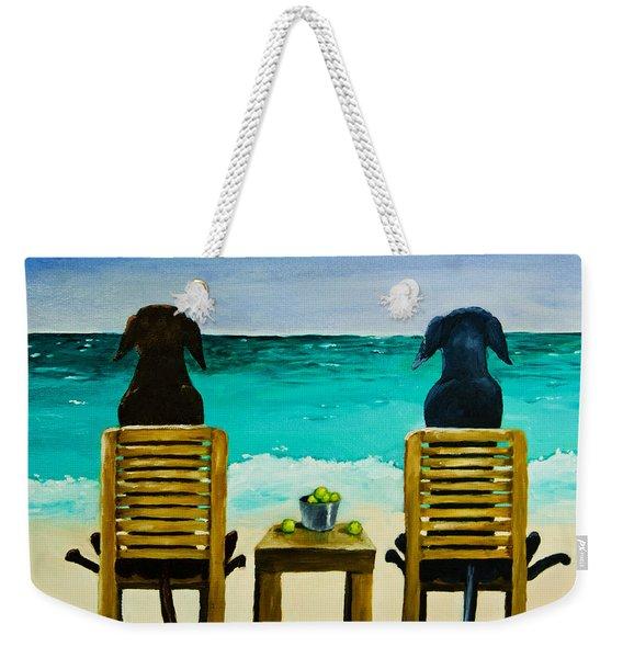 Beach Bums Weekender Tote Bag