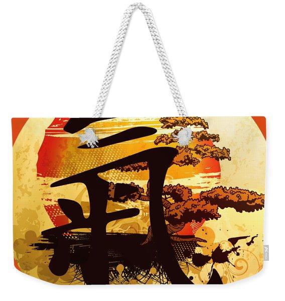 Beach Chi Bonsai Weekender Tote Bag