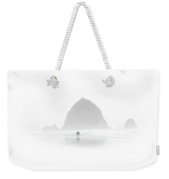 Beach Combers Weekender Tote Bag