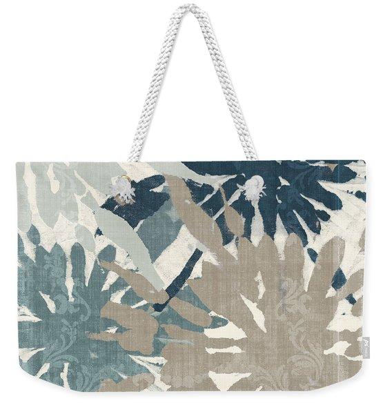 Beach Curry Iv Ikat Weekender Tote Bag