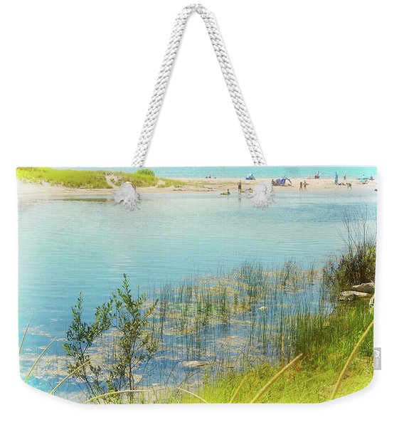 Beach Day In August Weekender Tote Bag