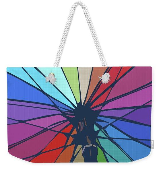 Beach Design By John Foster Dyess Weekender Tote Bag