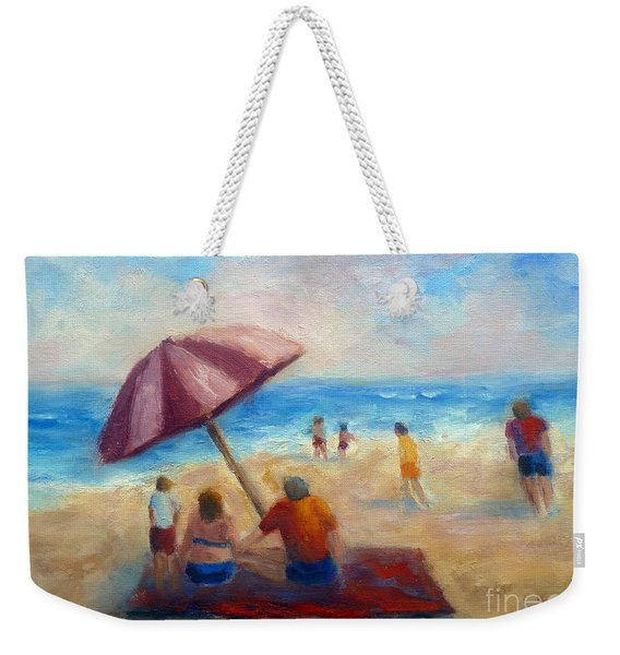 Beach Fun Weekender Tote Bag