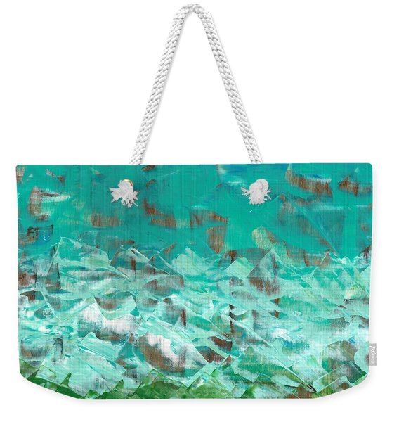 Beach Glass  Weekender Tote Bag