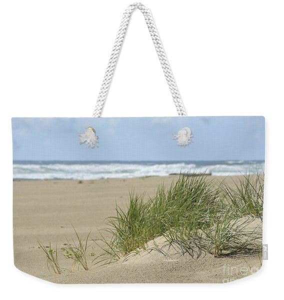 Beach Grass At Cannon Beach Weekender Tote Bag