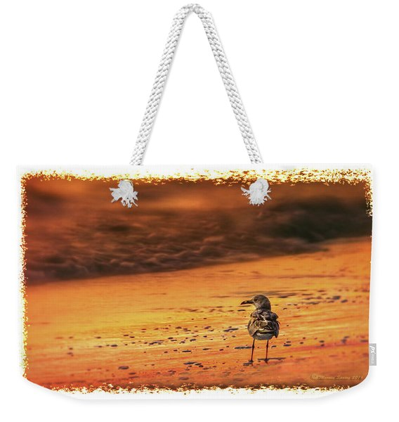Beach Gull Weekender Tote Bag
