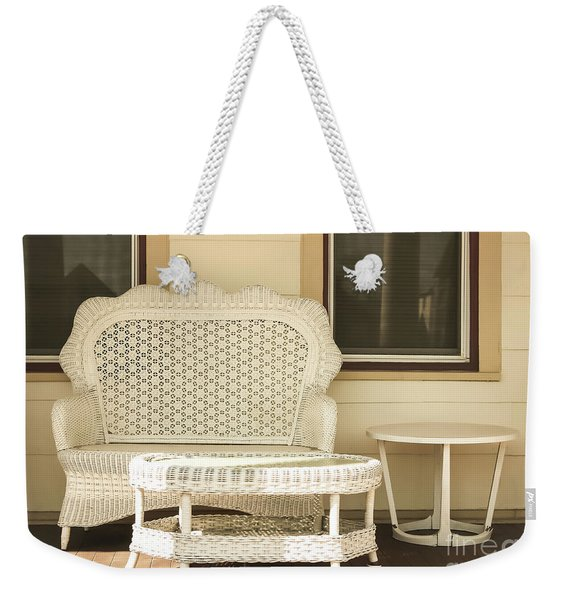Beach House Front Porch Weekender Tote Bag