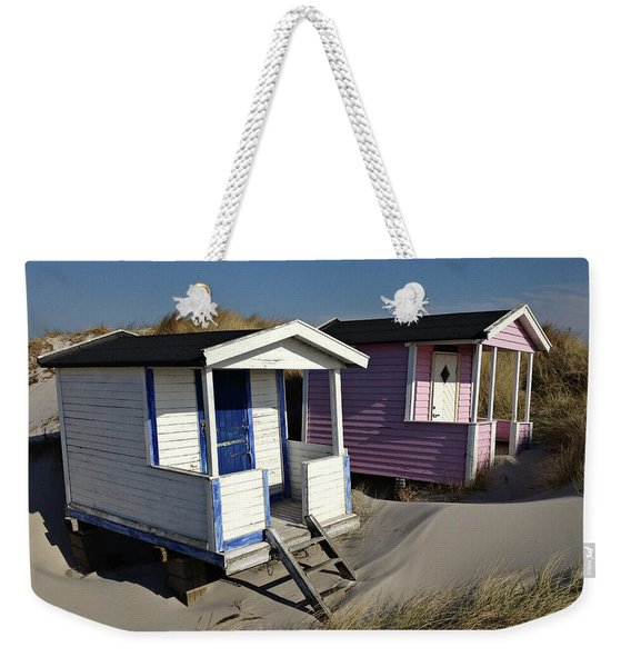 Beach Houses At Skanor Weekender Tote Bag