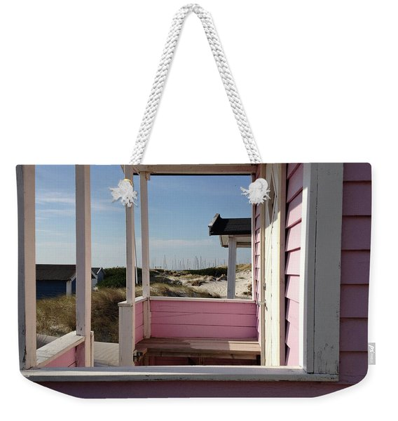 Beach Houses Weekender Tote Bag