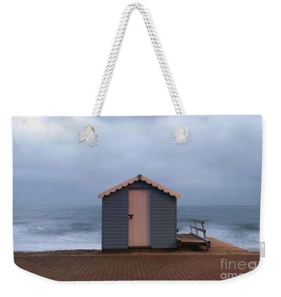 Weekender Tote Bag featuring the photograph Beach Hut by Clayton Bastiani