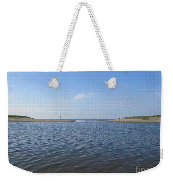 Beach Of Camperduin Weekender Tote Bag