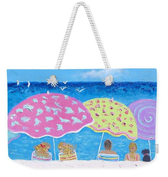 Beach Painting - Lazy Summer Days Weekender Tote Bag