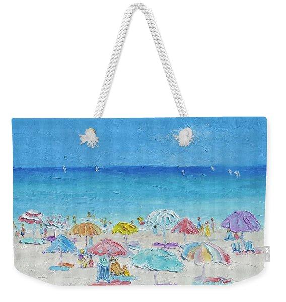 Beach Painting - Summer Paradise Weekender Tote Bag