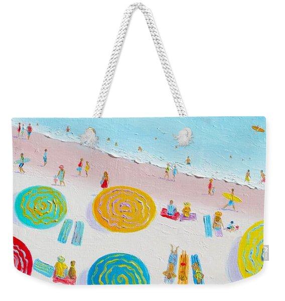 Beach Painting - The Simple Life Weekender Tote Bag