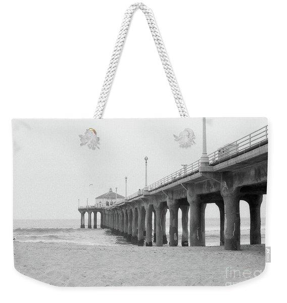 Beach Pier Film Frame Weekender Tote Bag