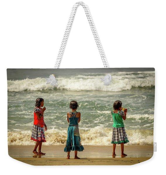 Beach Play Weekender Tote Bag