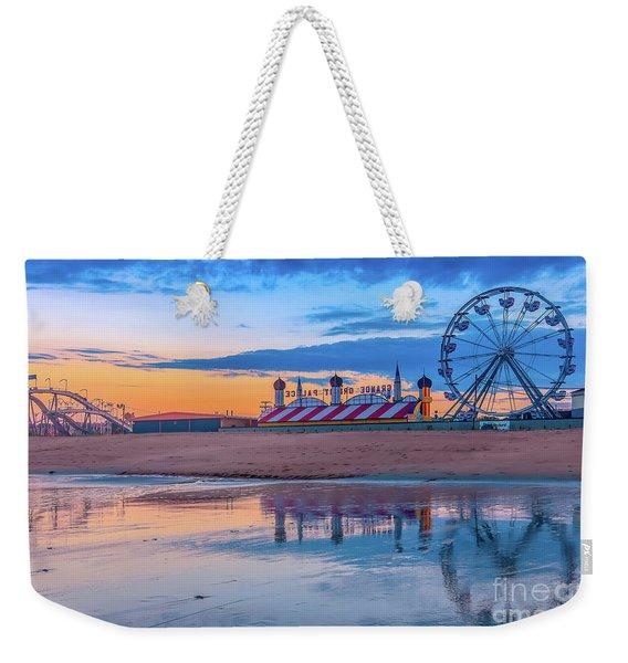 Beach Reflections Weekender Tote Bag
