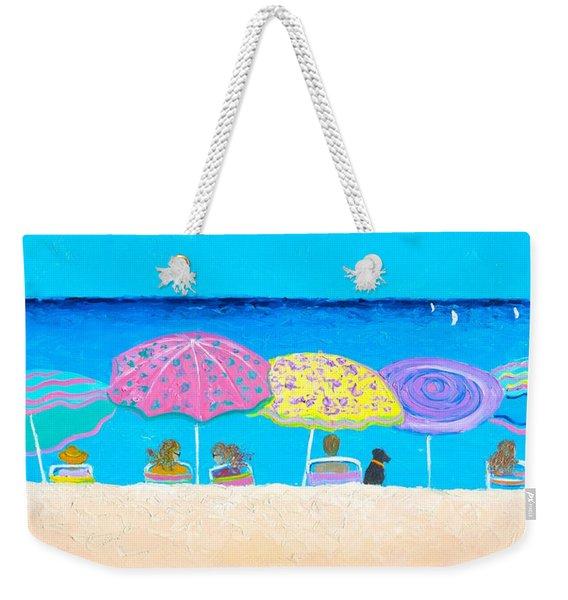 Beach Sands Perfect Tans Weekender Tote Bag