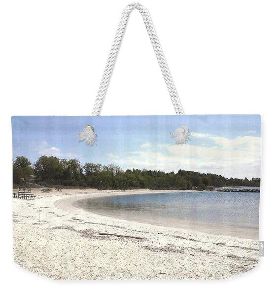 Beach Solomons Island Weekender Tote Bag