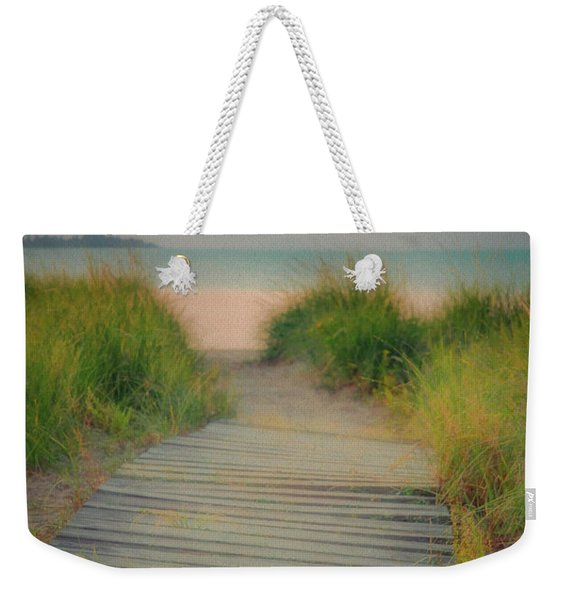 Beach Sunrise Weekender Tote Bag