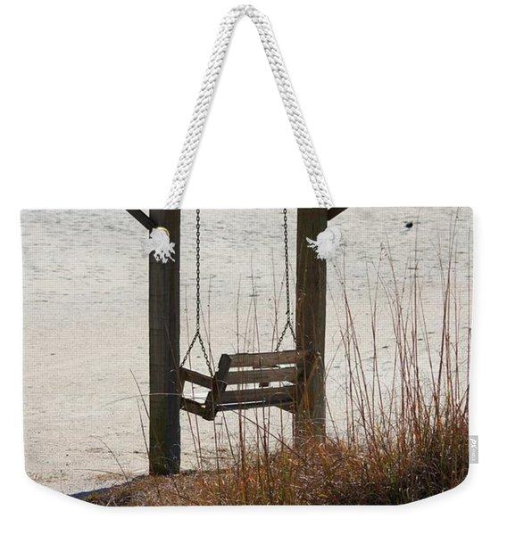 Beach Swing Weekender Tote Bag