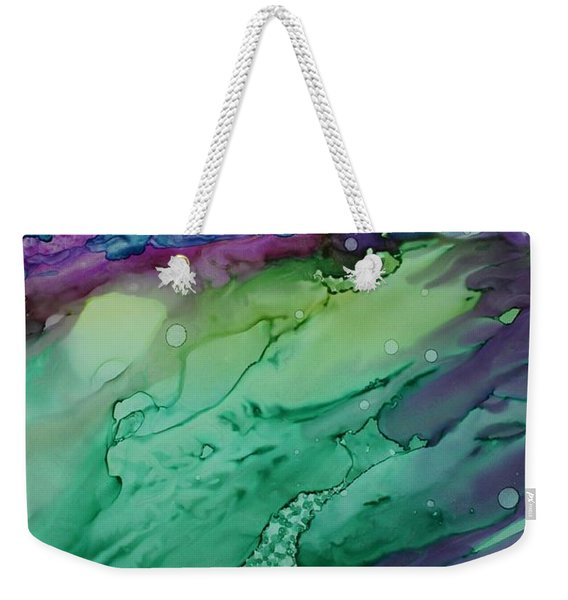 Beachfroth Weekender Tote Bag