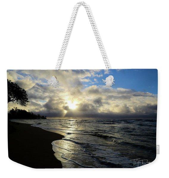 Beachy Morning Weekender Tote Bag