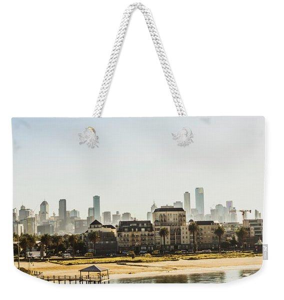 Beacon Cove Weekender Tote Bag