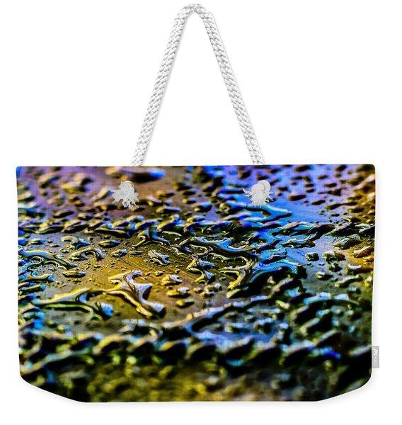 Beaded Water Texture Weekender Tote Bag