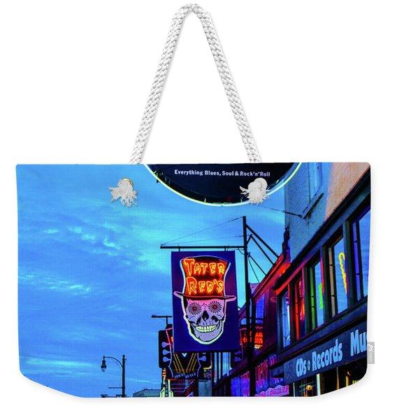Beale Str. Blues  Weekender Tote Bag