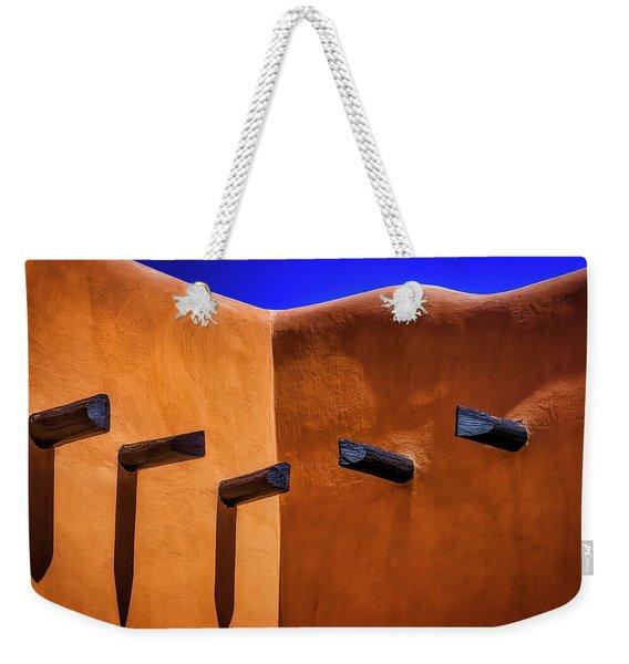 Beams In Adobe Wall Weekender Tote Bag