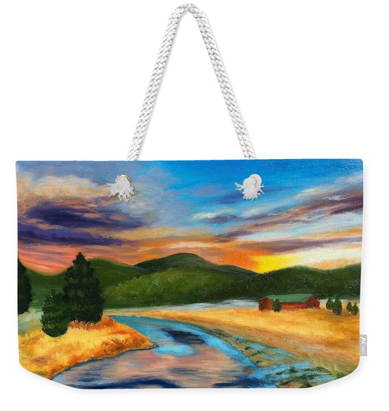 Bear Creek Colorado Weekender Tote Bag