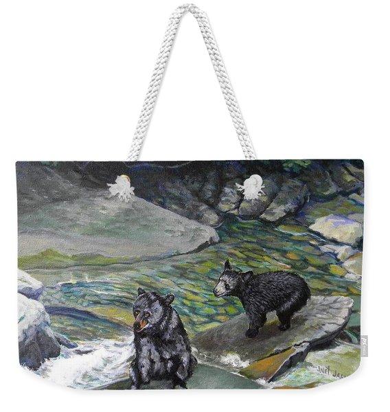 Bear Creek Weekender Tote Bag
