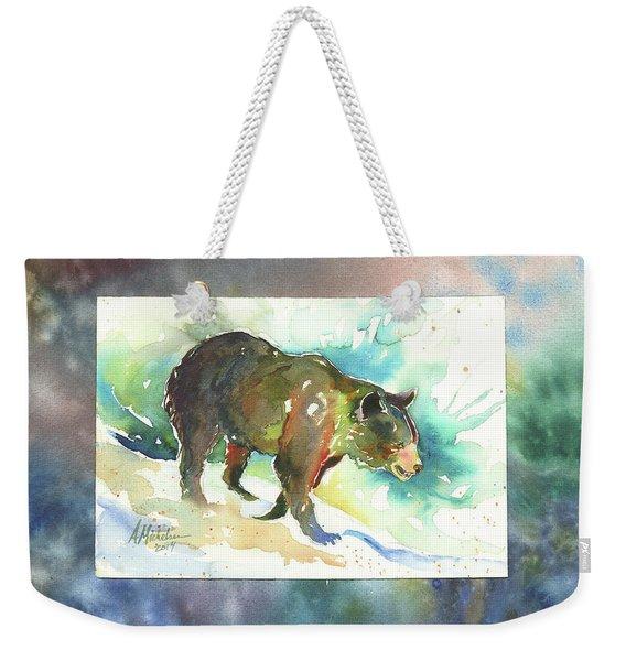 Bear I Weekender Tote Bag