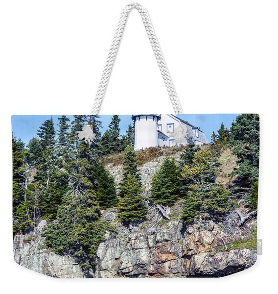 Bear Island Lighthouse Weekender Tote Bag