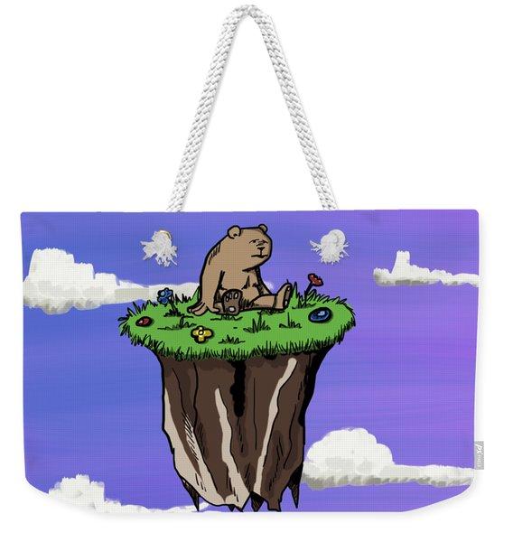 Bear Rock Weekender Tote Bag