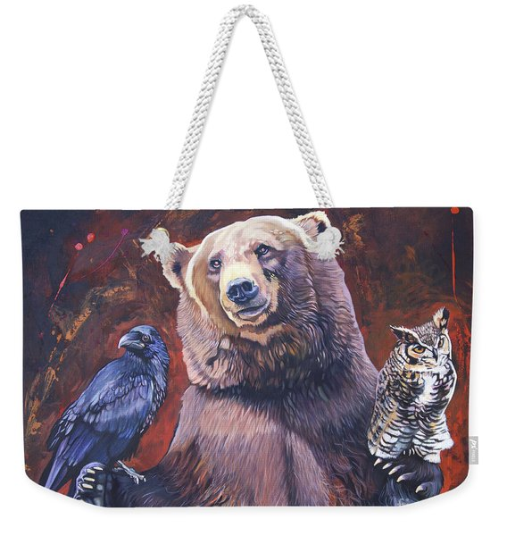 Bear The Arbitrator Weekender Tote Bag