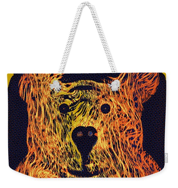 Bear With Me Weekender Tote Bag