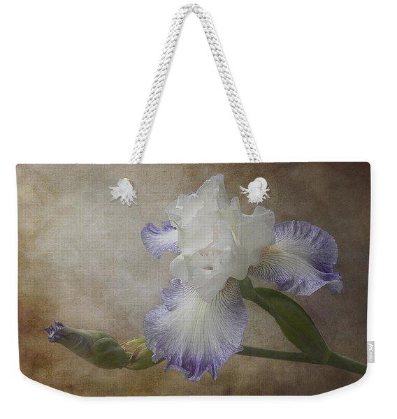 Bearded Iris 'gnuz Spread' Weekender Tote Bag