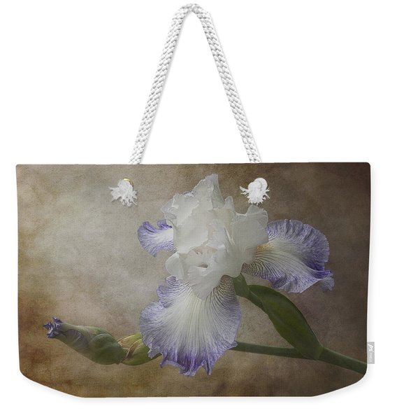Bearded Iris 'gnuz Spread' Weekender Tote Bag