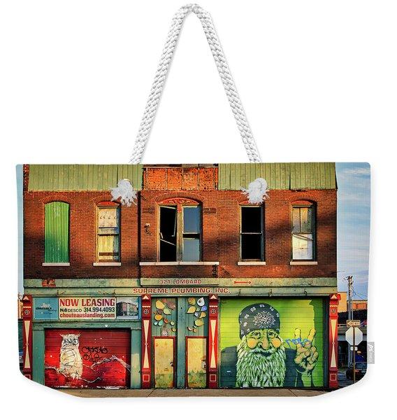 Beardy Mcgreen Weekender Tote Bag