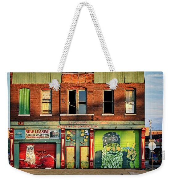 Beardy Mcgreen Weekender Tote Bag