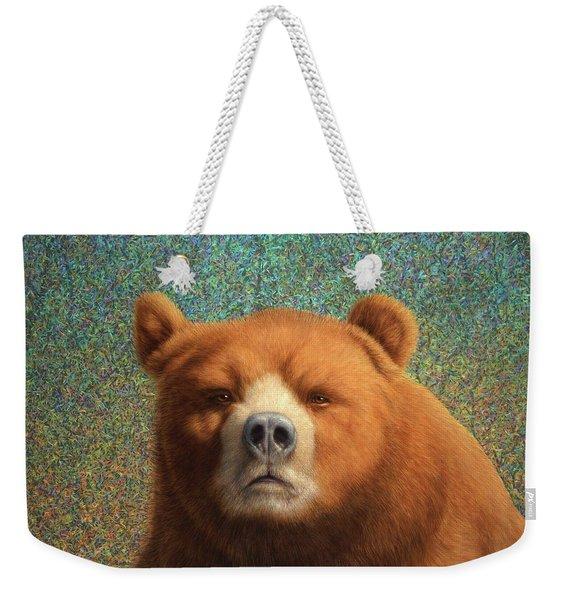 Bearish Weekender Tote Bag