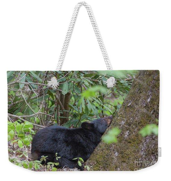 Bearly Awake Weekender Tote Bag
