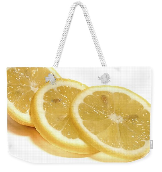 Beat The Heat With Refreshing Fruit Weekender Tote Bag
