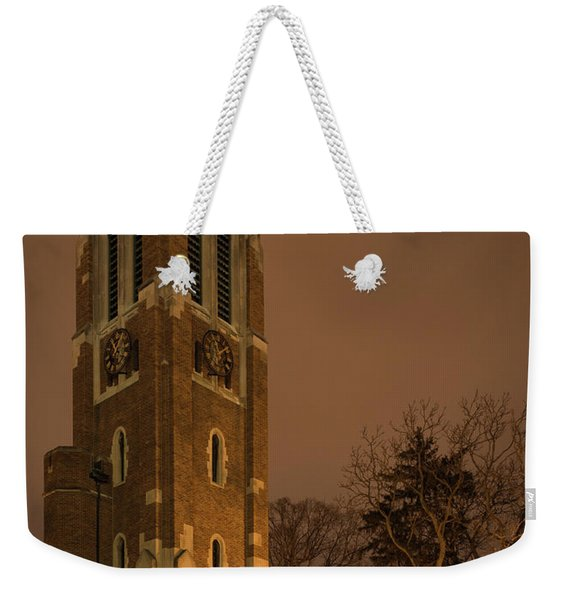 Beaumont Tower Weekender Tote Bag