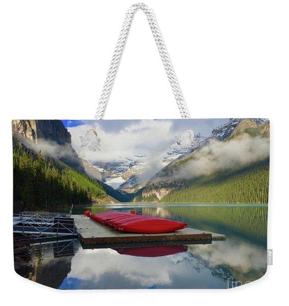 Beautiful Banff Weekender Tote Bag